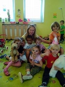 Barunka s dětmi